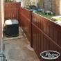 V5006-6 Semi-Privacy Fence Enclosure