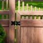 VWG3707-46 - Grand Illusions Vinyl WoodBond Walnut (W103) Walk Gate