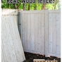 Grand Illusions Vinyl WoodBond White Cedar vs. Wood Fence