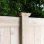V300-6 T&G PVC Privacy Fence in Eastern White Cedar (W105)