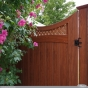 rosewood pvc vinyl wood grain gate 0001 copy