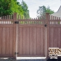 walnut-vinyl-fence-wood-grain-pvc