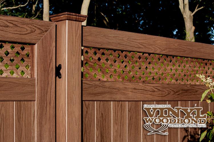 v3215ds6 walnut w103 tu0026g vinyl privacy fence v3215ds6 walnut w103 tu0026g vinyl privacy fence