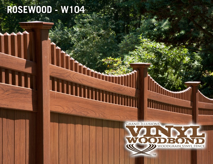 Rosewood Fence Archives Illusions Vinyl Fence