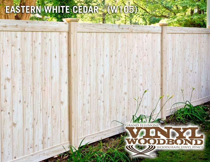 White Cedar Pvc Fence Archives Illusions Vinyl Fence