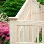 A Grand Illusions Vinyl WoodBond Eastern White Cedar (W105) V3701-6 Privacy Fence