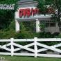Crossbuck Post & Rail Fence at CVS