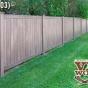 V300-6 T&G 6\' Privacy Fence in Walnut (W103)
