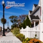V352-4TR Scalloped Contemporary Picket fence at Apartment Complex