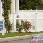 V700-4 Classic Victorian Picket Fence with Straight Top