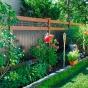 V3215SQ-6 6\' Vinyl Privacy fence