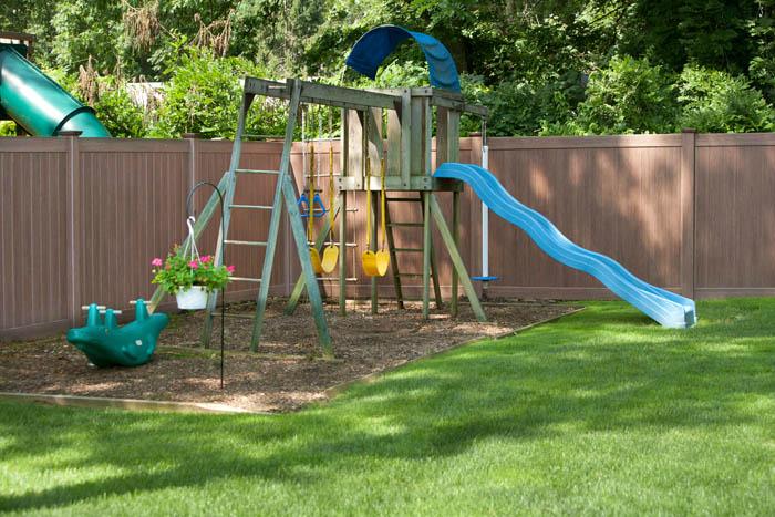 create a fun backyard with vinyl fencing illusions vinyl fence