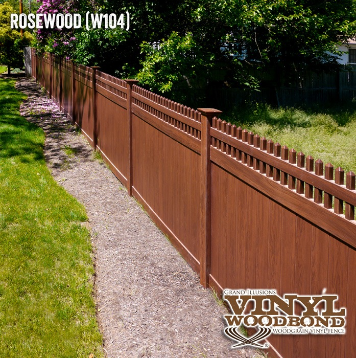 pvc woodgrain fence_1