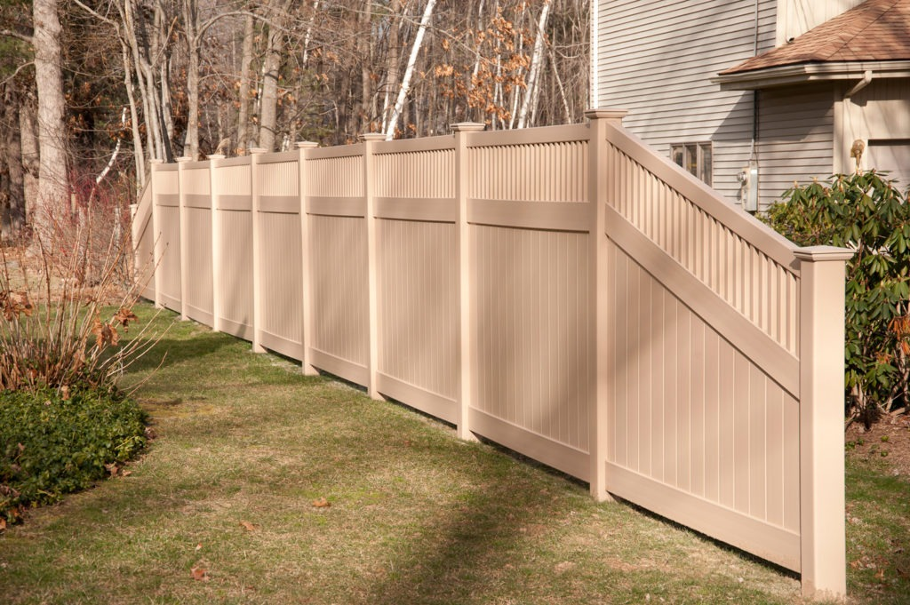Images Of Illusions Pvc Vinyl Wood Grain And Color Fence