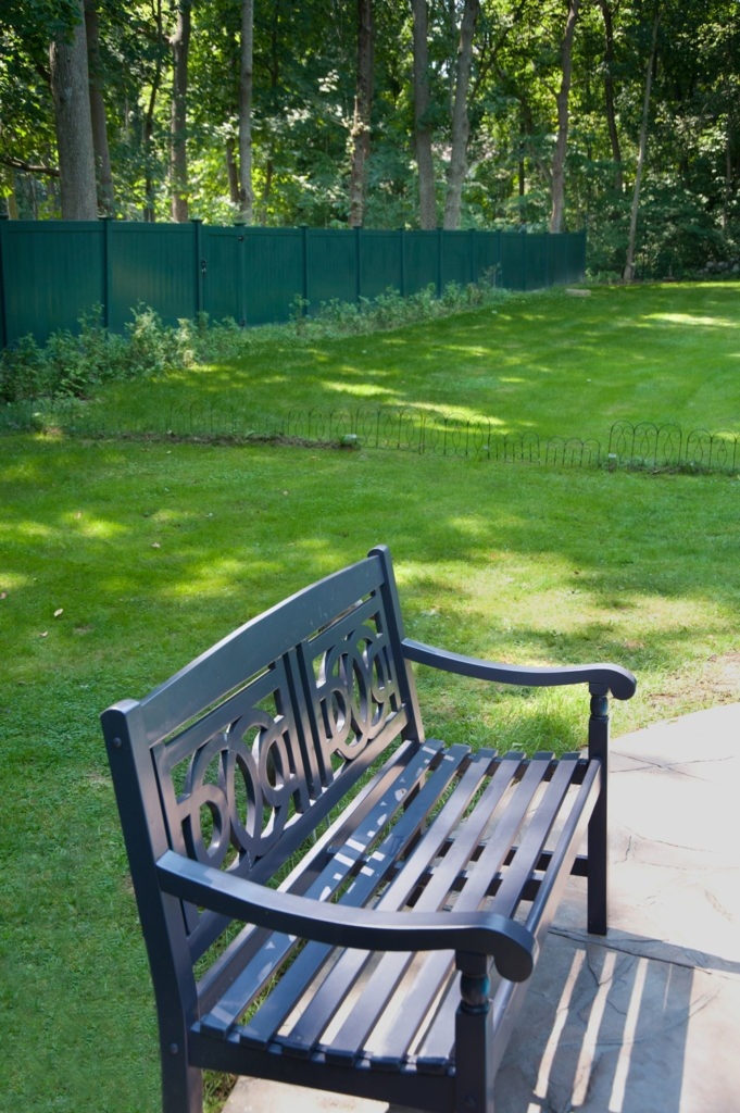 green vinyl pvc fencing panels