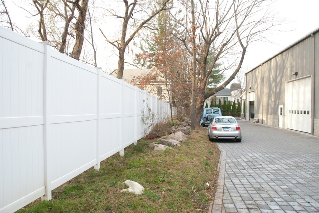 illusions 8 foot high pvc vinyl privacy fencing panels 2