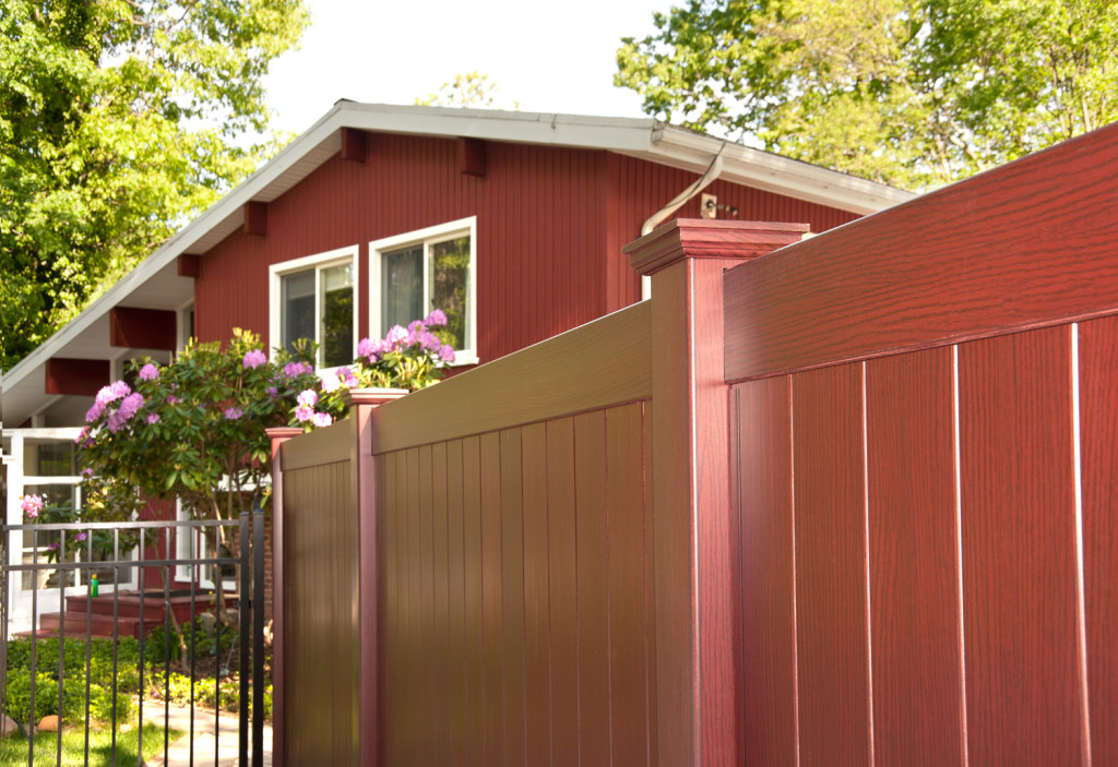 illusions cherry vinyl privacy fence