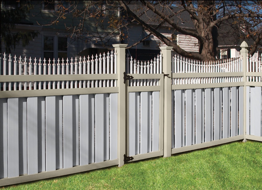 illusions pvc vinyl customer semi privacy fencing panels
