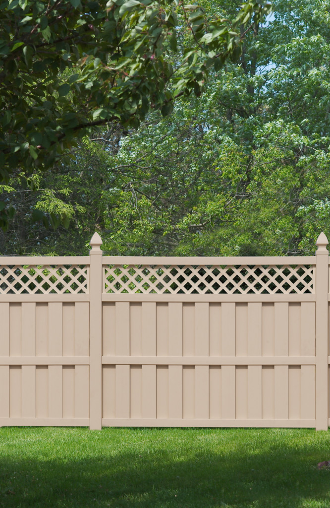 illusions pvc vinyl fence board on board panels