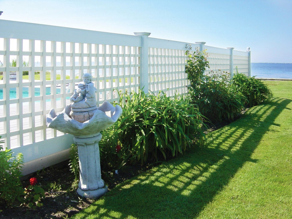 illusions pvc vinyl lattice fence panels