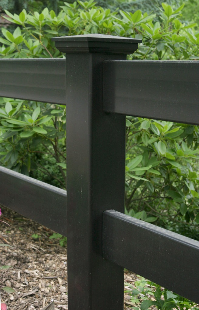 illusions pvc vinyl post and rail fence post