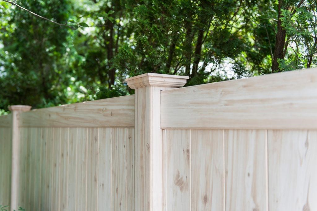 illusions pvc vinyl wood grain fencing panels 7