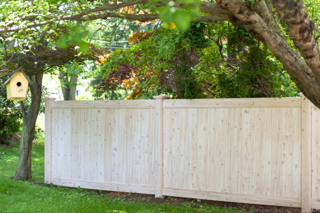 illusions pvc vinyl wood grain fencing panels 8