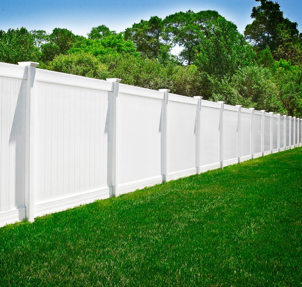 illusions v-300 pvc vinyl privacy fencing panels