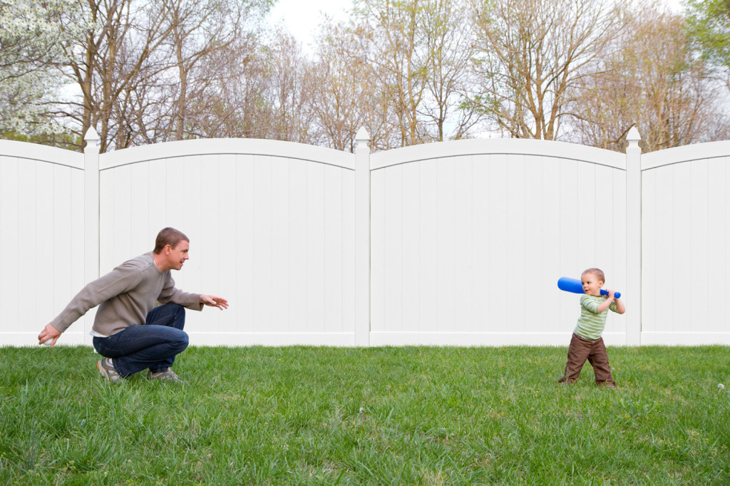 illusions vinyl pvc curved privacy fence panels sections