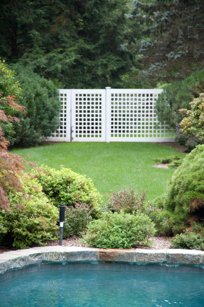 illusions vinyl pvc lattice fence panels and gate