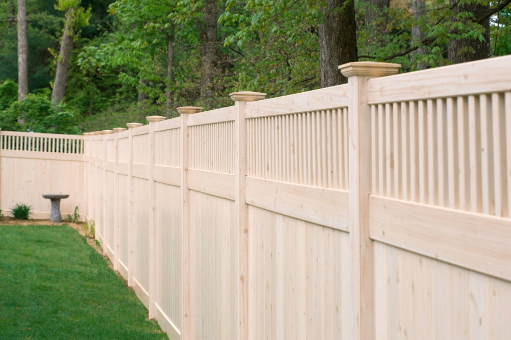 illusions wood grain pvc vinyl privacy fence panels 2