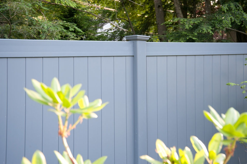 slate gray pvc vinyl privacy fence panels 3
