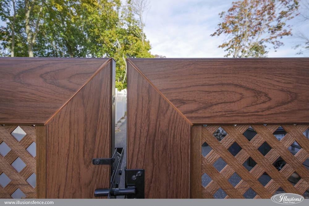 best pvc vinyl fence gate illusions fence
