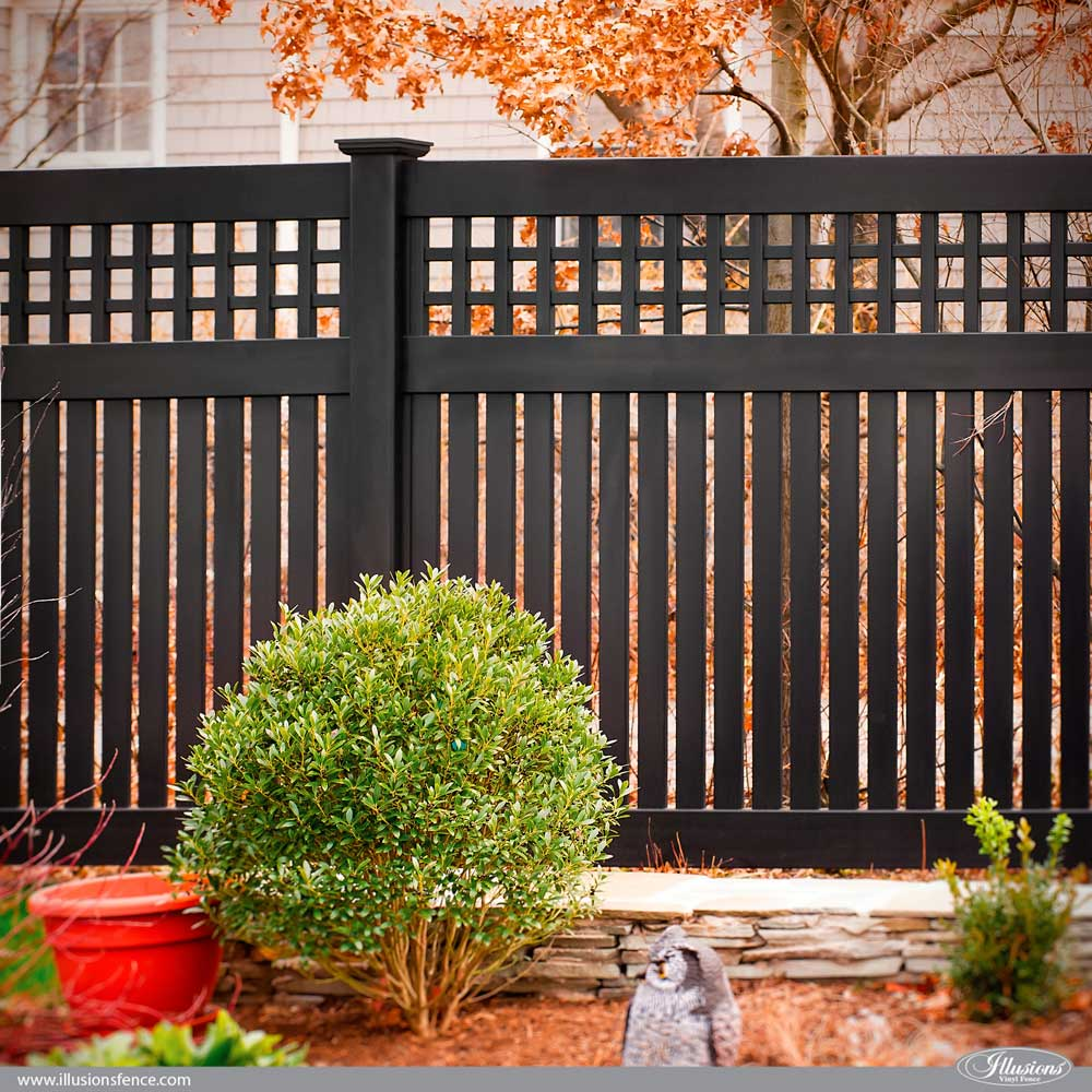 Privacy: Awesome Illusions PVC Vinyl Fence Ideas And Images