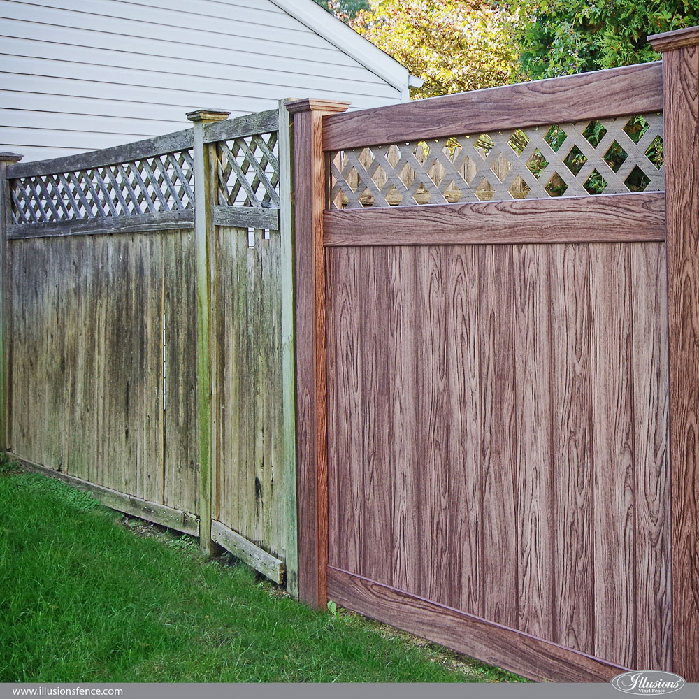 12 Amazing Low Maintenance Fence Ideas Illusions Vinyl Fence