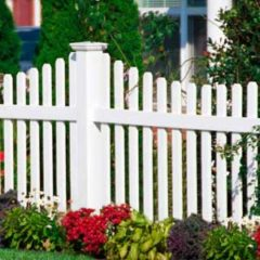 17 Fence Ideas To Add Curb Appeal To Your Home #fenceideas #curbappeal #landscapingideas #fence