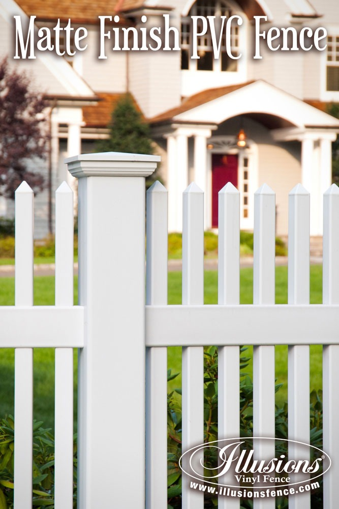 32 Awesome New Fence Ideas For Your Home - Illusions Vinyl Fence