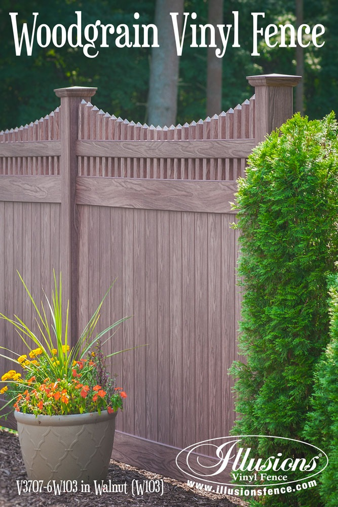 32 Awesome New Fence Ideas For Your Home Illusions Vinyl Fence