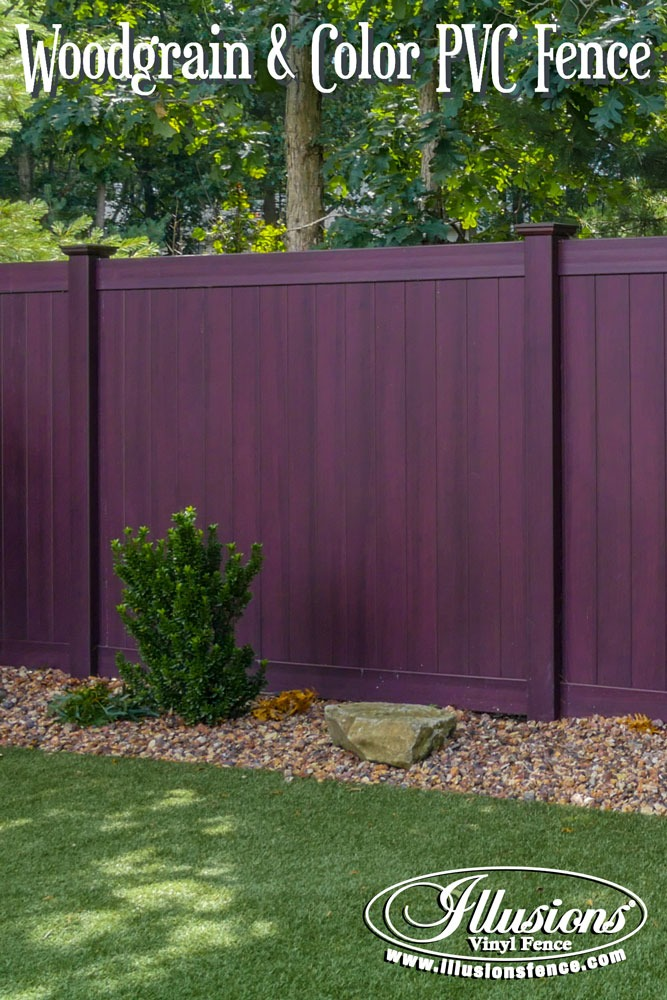 New Fence Ideas. Gorgeous PVC Vinyl Grand Illusions Vinyl WoodBond Fencing  Panels From Illusions Look