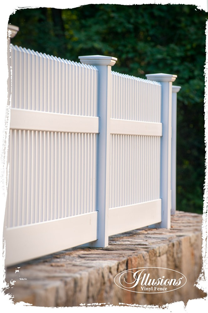 Who Makes The Best White Vinyl Fence Illusions Vinyl Fence