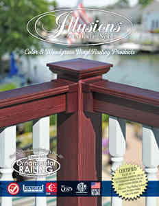 Illusions Vinyl Railing System Product Brochure