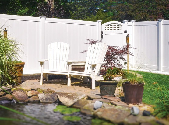Illusions Vinyl Fence - The Best PVC Vinyl Fence in the Industry