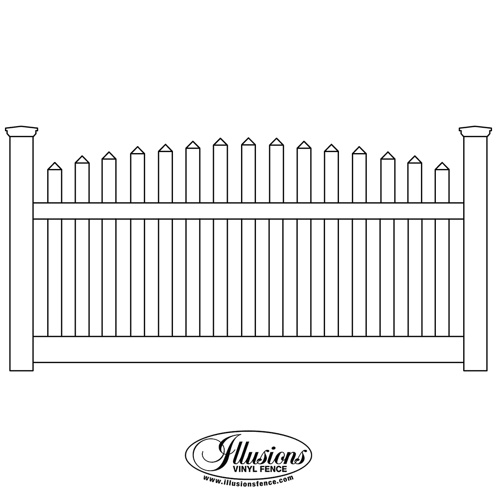 Contemporary Fences | Illusions Fence