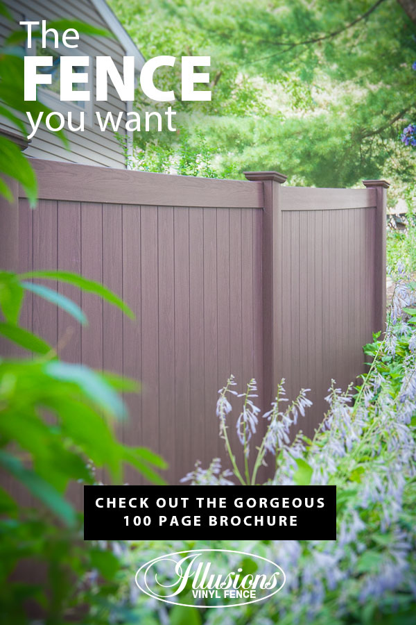 If You Need a Fence, Illusions Rosewood Vinyl Privacy Fence is the Fence You Want #vinylfence #vinylfencing #vinylfences #fence #fences #fencing #fencecompany #fencecontactor #fenceinstaller #fenceideas #poolfence #privacyfence #picketfence #americandream
