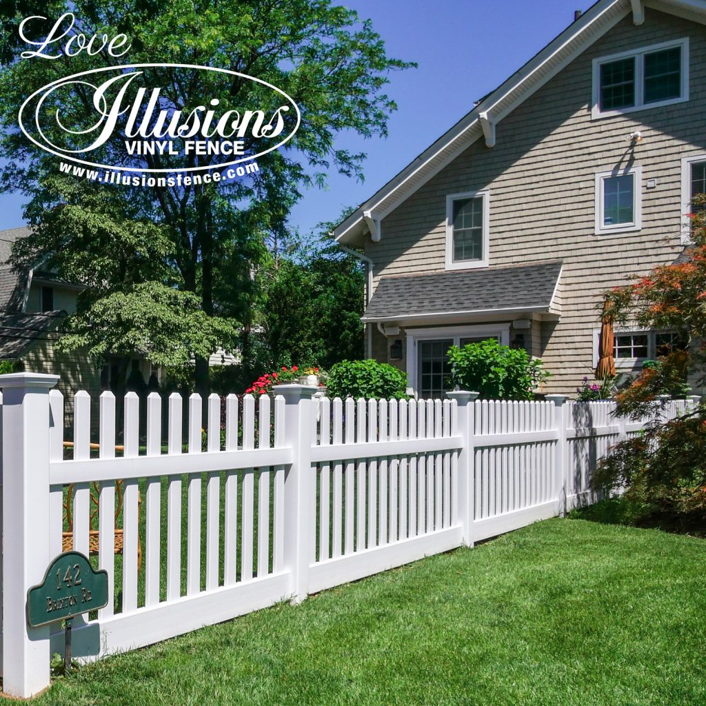 Got to love this incredible American dream Illusions V350 style white picket vinyl fence with matching gate #americandream #whitepicketfence #fence #fences #fencing #vinylfence #vinylfencing #fencepanels #fenceideas #homeideas #homedecor #backyardideas #privacyfence #privacyfences #poolfence #poolfences #longisland #longislandny #newyork #connecticut #rhodeisland #massachusetts #connecticut #pennsylvania #newjersey #fencecompany #bestfence #fencecontractor #fenceinstaller #yardfence