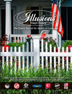 Thumbnail image for the Illusions Vinyl Fence Classic Product Brochure